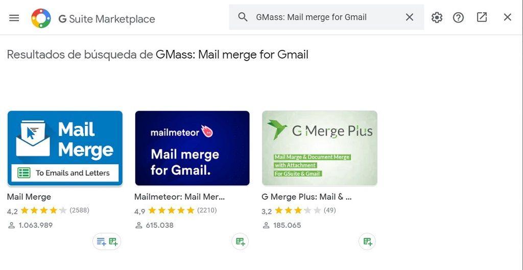 herramienta para mailing con gmail