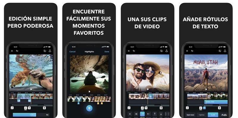 edición de vídeo en dispositivos móviles