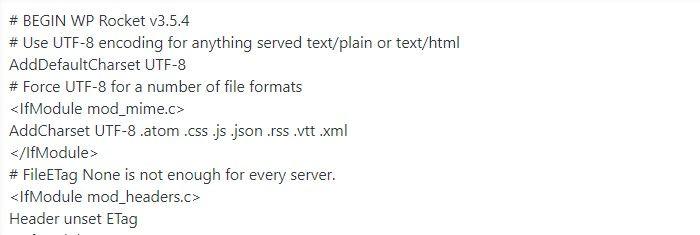 configuración archivo .htaccess