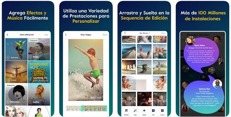 magisto app vídeos