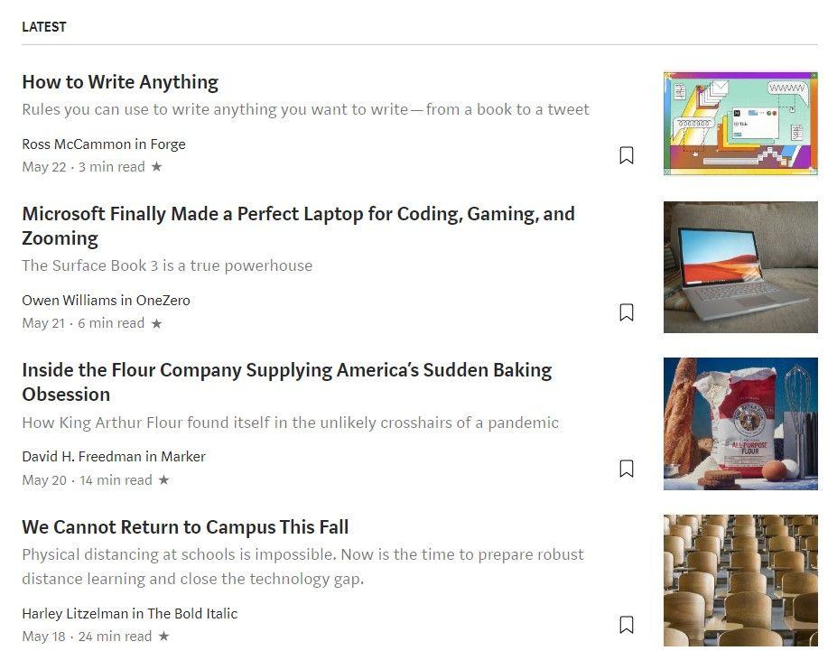 crear un blog en medium