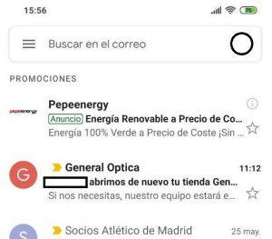 anuncio email google