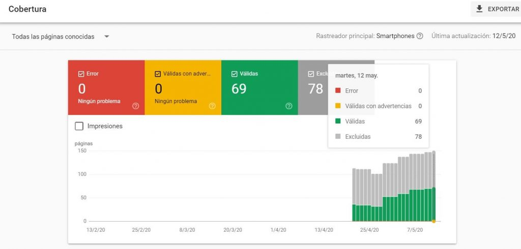 analisis ataque seo search console