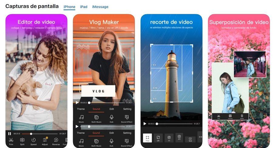 app editar video smartphone