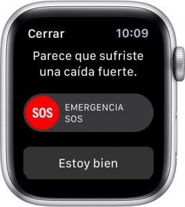 caída apple watch