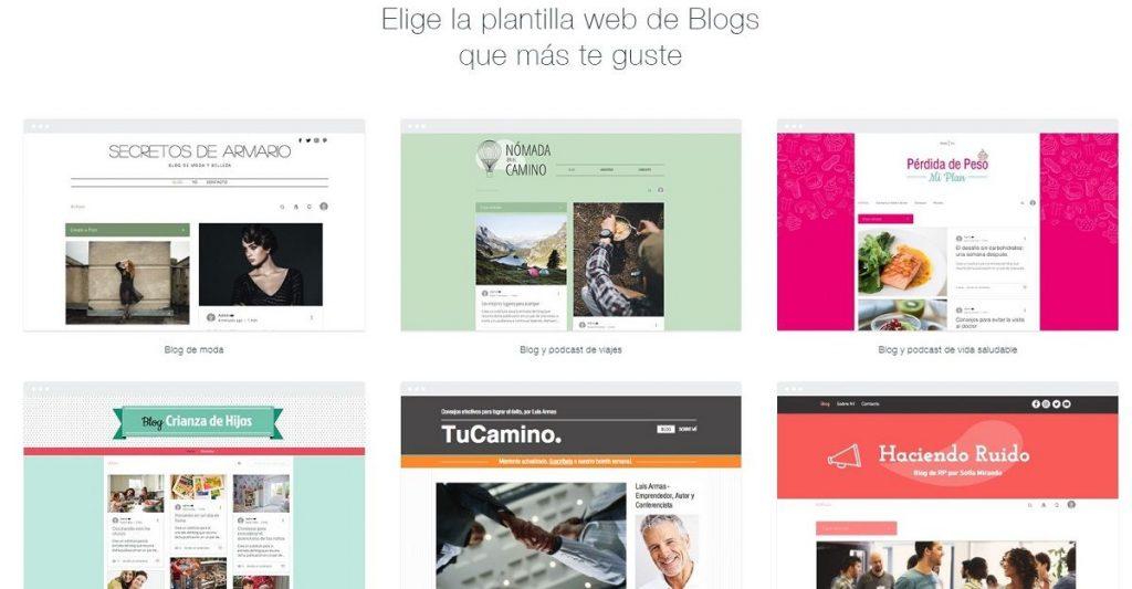 crear blog con wix gratis