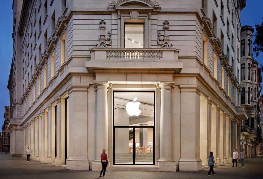 apple store tienda insigia barcelona