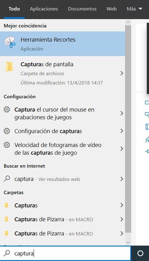 archivar captura de pantalla windows