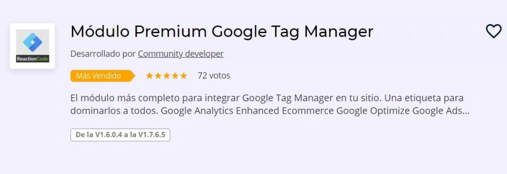 plugin tag manager prestashop