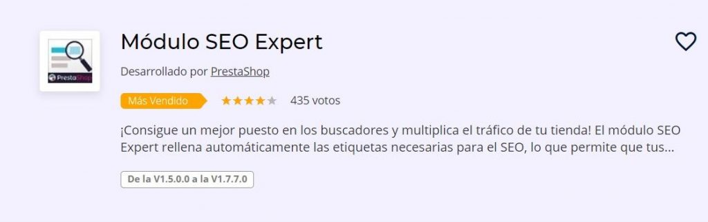 plugin seo prestashop