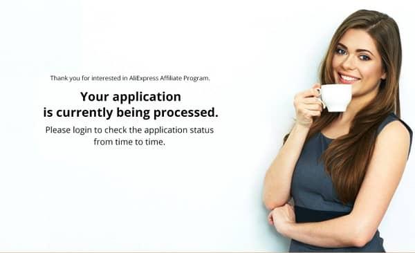 verificación afiliados aliexpress