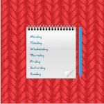 agenda escolar semana vista