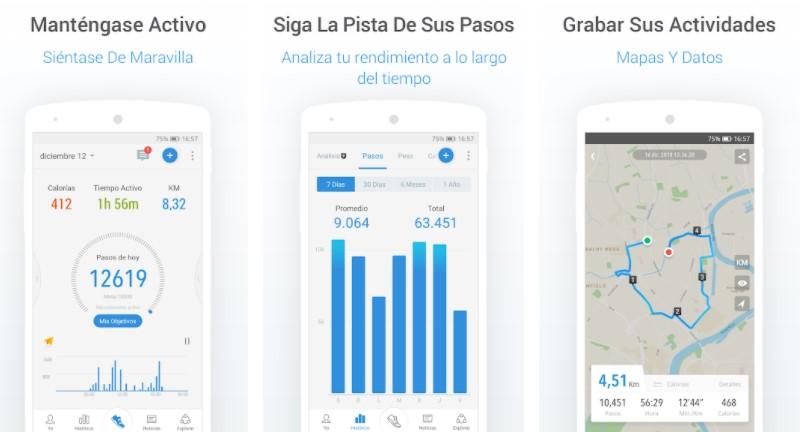 app pacer running