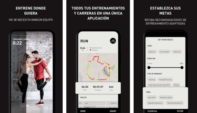 aplicación para correr pumatrack