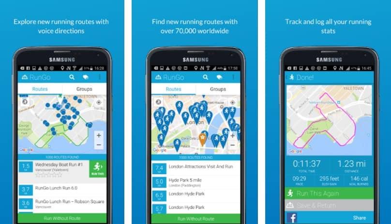 app para correr rungo