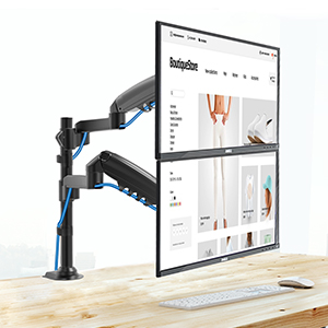 soporte dual monitor