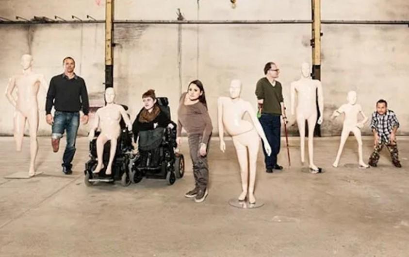pro infirmis publicidad institucional ejemplo maniquí inclusivo