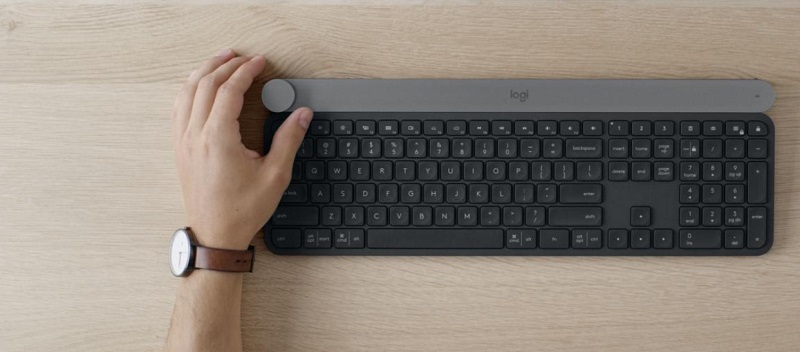 logitech craft teclado bluettoht