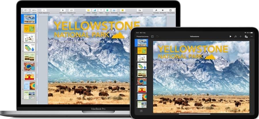app presentaciones apple