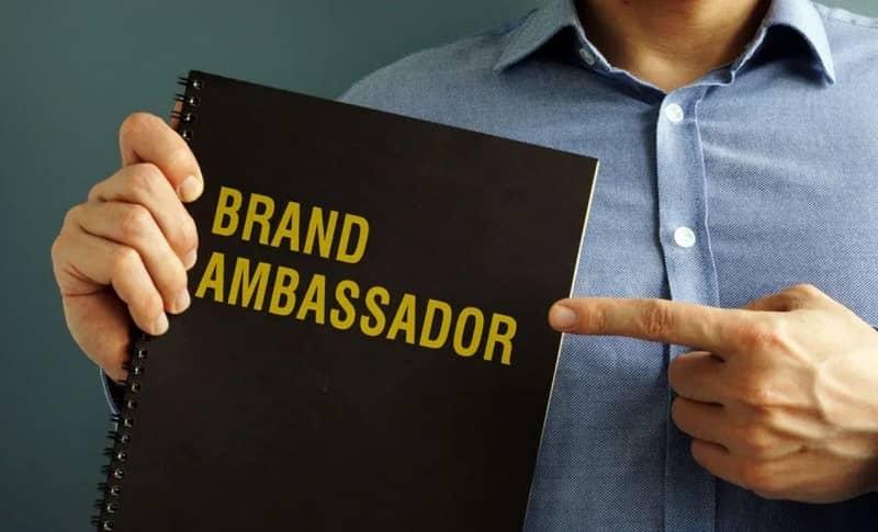 embajador de marcar características