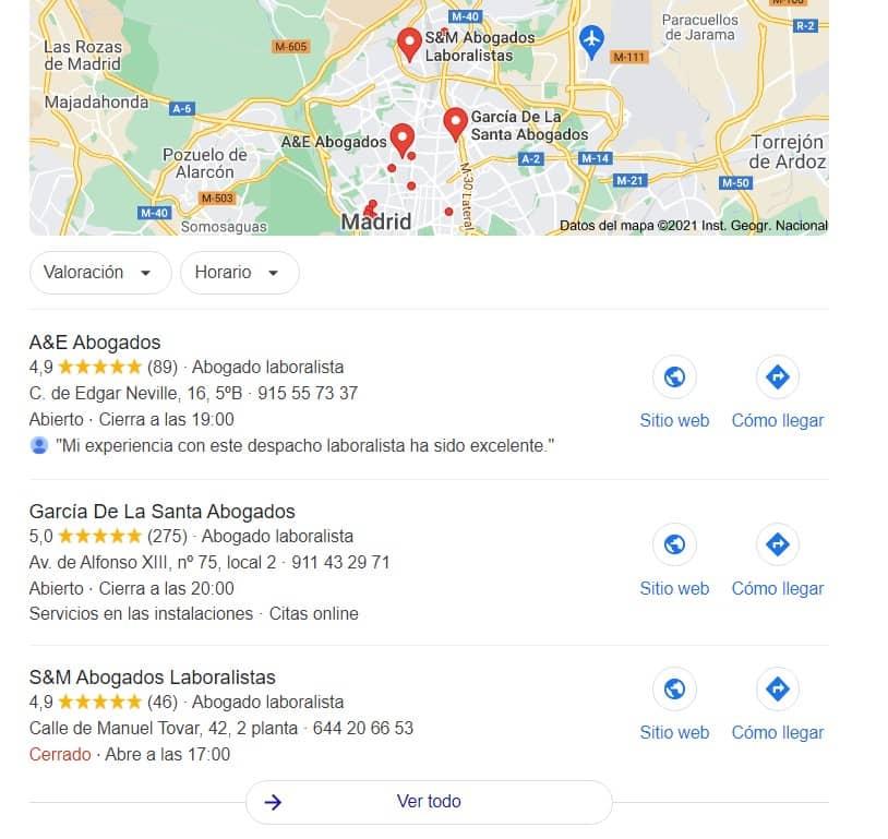 aparecer primero en Google