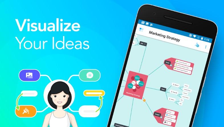 aplicaciones para crear mapas conceptuales y estudiar