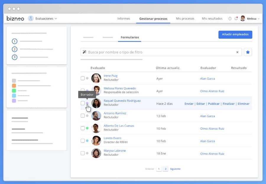 bizneo software recursos humanos