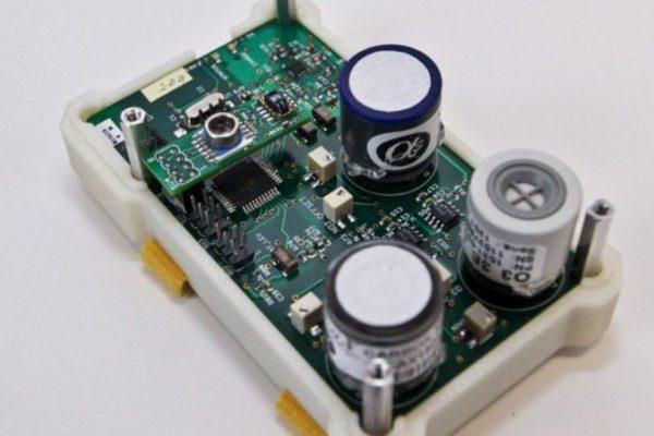 sensor IOT polución